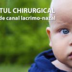Tratamentul chirurgical in obstructia de canal lacrimo-nazal
