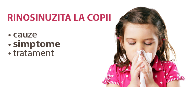 Rinosinuzita la copii: cauze, simptome, tratament