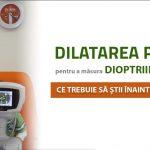 Dilatarea pupilei pentru a măsura dioptriile la copii